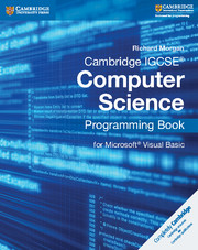 Cambridge IGCSE® Computer Science Programming Book