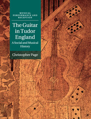 The Guitar in Tudor England