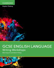 GCSE English Language Writing Workshops with Cambridge Elevate Enhanced Edition (2 Years)