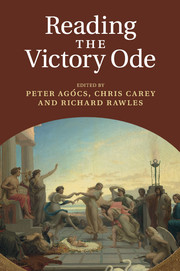 Reading the Victory Ode