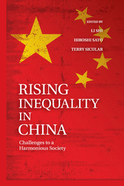 Rising Inequality in China