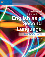 Introduction to English as a Second Language
