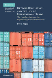 Optimal Regulation and the Law of International Trade