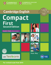 Compact First Student's Book without Answers with CD-ROM with Testbank