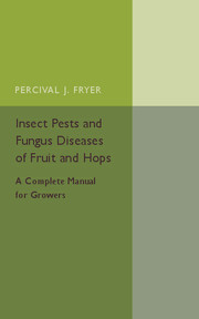 Insect Pests and Fungus Diseases of Fruit and Hops
