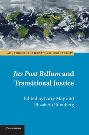 <I>Jus Post Bellum</I> and Transitional Justice