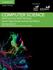 A/AS Level Computer Science for WJEC/Eduqas Component 2 Cambridge Elevate Enhanced Edition (2 Years)