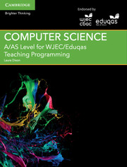 for WJEC/Eduqas Teaching Programming Cambridge Elevate enhanced edition