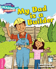 My Dad is a Builder Pink B Band