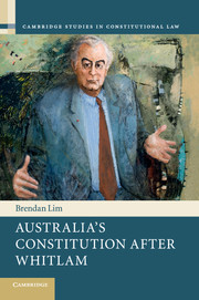 Australia's Constitution after Whitlam