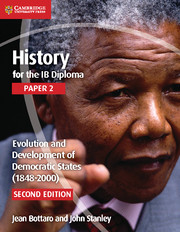 Evolution and Development of Democratic States Cambridge Elevate edition (2 Years)