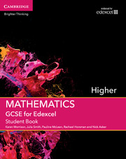 GCSE Mathematics for Edexcel Higher Student Book with Online Subscription (3 Years)
