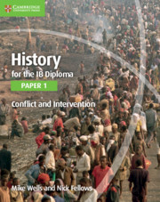 History for the IB Diploma Paper 1 The Move to Global War
