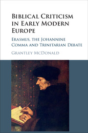 Biblical criticism in early modern europe by grantley mcdonald biblical criticism in early modern europe fandeluxe Choice Image