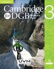 Cambridge for DGB Level 3