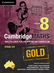 Cambridge Mathematics GOLD NSW Syllabus for the Australian Curriculum Year 8