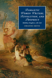 Romantic Women Writers, Revolution, and Prophecy