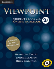 Viewpoint Level 2 Student's Book with Updated Online Workbook A