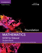 GCSE Mathematics for Edexcel Foundation Student Book with Online Subscription (3 Years)