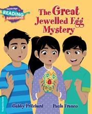 The Great Jewelled Egg Mystery Turquoise Band