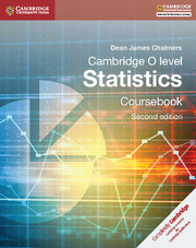 Cambridge O-Level Statistics Coursebook