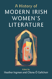 A History of Modern Irish Women's Literature