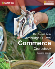 Cambridge O Level Commerce Coursebook