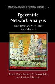Egocentric Network Analysis by Brea L  Perry