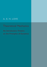 Theoretical Mechanics