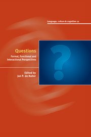 questions edited by jan p de ruiter