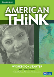 American Think Starter Workbook with Online Practice