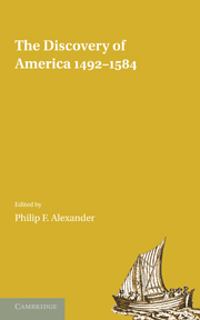 The Discovery of America 1492–1584