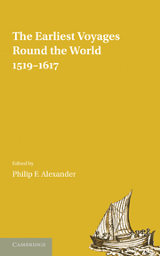 The Earliest Voyages Round the World, 1519–1617
