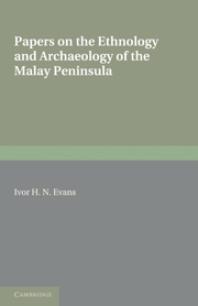 Papers on the Ethnology and Archaeology of the Malay Peninsula