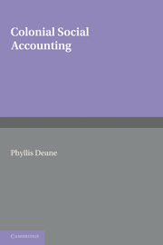 Colonial Social Accounting