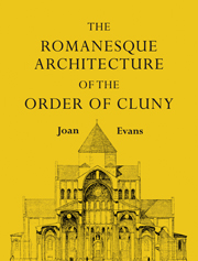 The Romanesque Architecture of the Order of Cluny