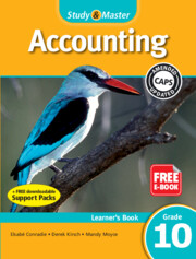 Study & Master Accounting Learner's Book Grade 12