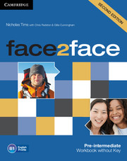 face2face Pre-intermediate Workbook without Key