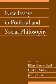 New Essays in Political and Social Philosophy