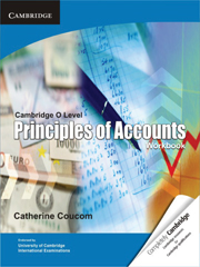 Cambridge O Level Principles of Accounts