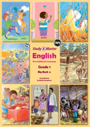 Study & Master English FAL Big Book 4 Grade 1