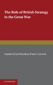 The Role of British Strategy in the Great War