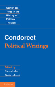 Condorcet: Political Writings