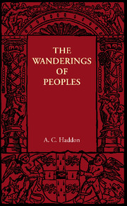 The Wanderings of Peoples