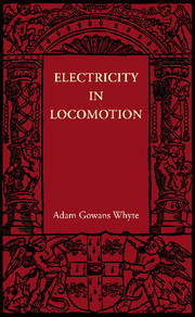 Electricity in Locomotion