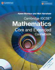 Cambridge IGCSE Mathematics Core and Extended