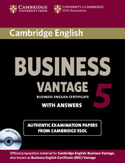 Cambridge English Business 5 Vantage