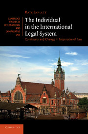 The Individual in the International Legal System