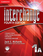 Interchange Level 1 Full Contact A with Self-study DVD-ROM