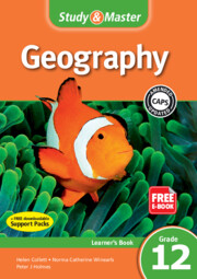 Study & Master Geography Learner's Book Grade 12 (1 Year) Elevate Edition